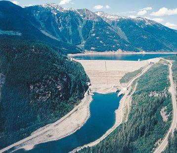 Columbia River Dam